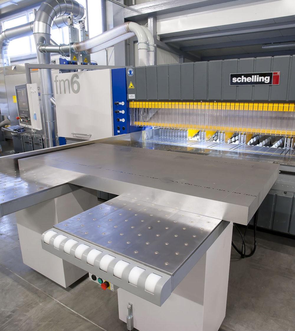 Cięcie formatek aluminiowych